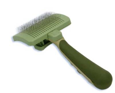 cat hair slicker brush