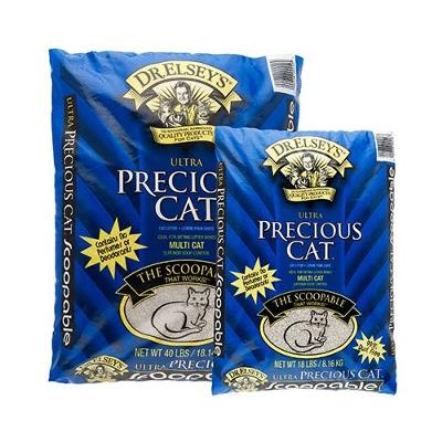 Dr. Elsey's Ulra Precious Cat Litter is working better for this reader than Feline Pine Pellets
