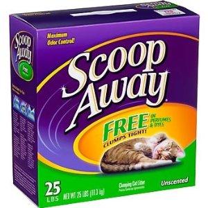 Scoop Away Cat Litter
