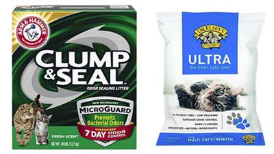 Arm & Hammer and Dr. Elsey's Ultra Precious Cat Are Popular Low Dust Cat Litter Brands